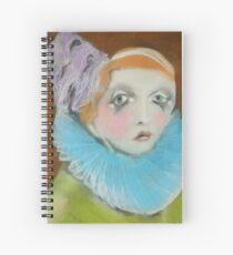 Creepy Clown Spiral Notebook