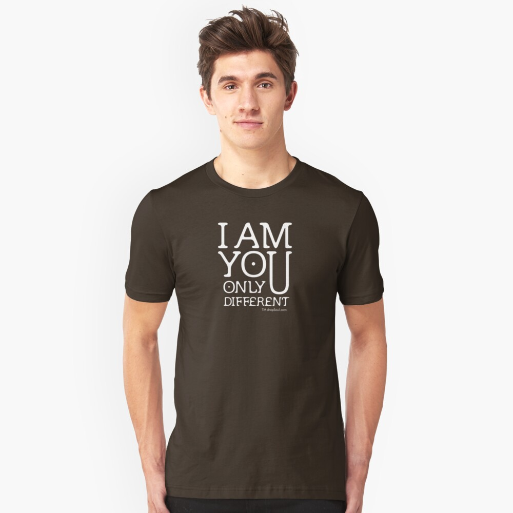 I am you, only different. (REMIX) Slim Fit T-Shirt