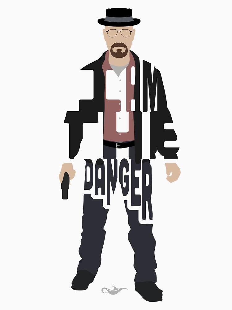 I Am The Danger Heisenberg From Breaking Bad by GrantP93
