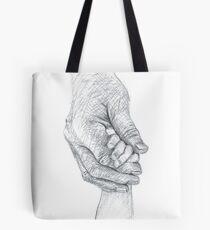 Take My Hand Tote Bag