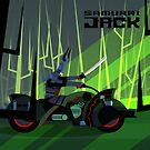 Samurai Jack Bike by artkarthik