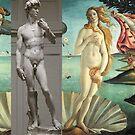 Virtual Meeting of David and Aphrodite  #Virtual #Meeting #David #Aphrodite  by znamenski