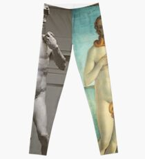 Virtual Meeting of David and Aphrodite  #Virtual #Meeting #David #Aphrodite  Leggings