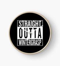 Straight outta Wintergrasp Clock