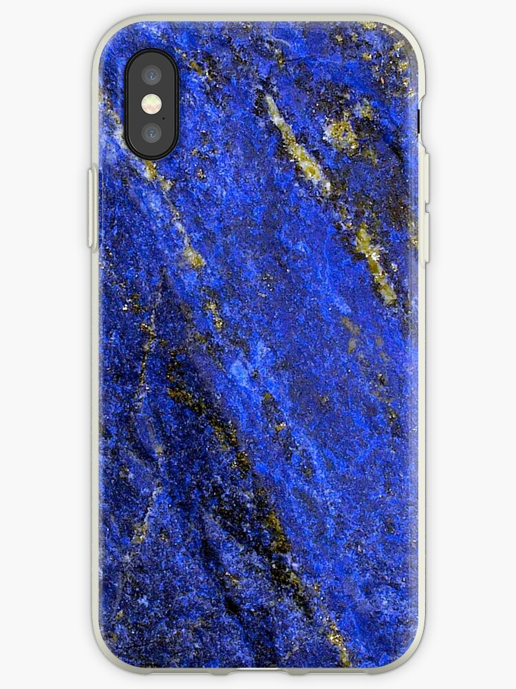 Lapis Lazuli iPhone / Samsung Galaxy Case by Tucoshoppe