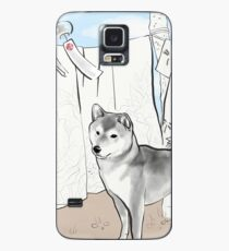 Shiba inu, Kimono and Summer breeze Case/Skin for Samsung Galaxy