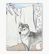 Shiba inu, Kimono and Summer breeze iPad Case/Skin