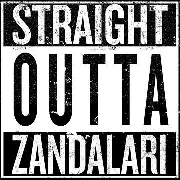 Straight outta Zandalari by iPixelian