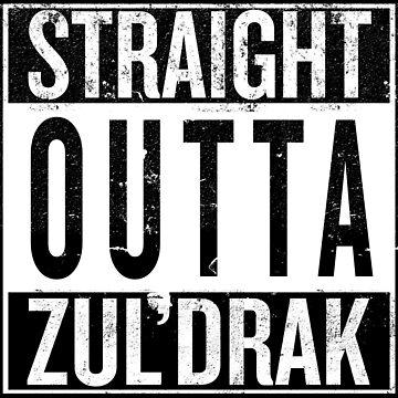 Straight outta Zuldrak by iPixelian