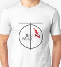 Just Music - Ripple Effect Style Unisex T-Shirt