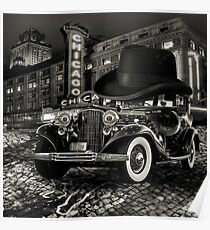 Don Cadillacchio Black And White Poster