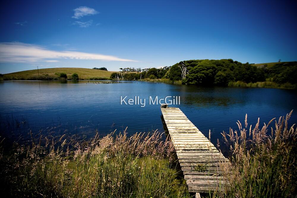 Kate's Dam, Wesley Vale Tasmania by Kelly McGill