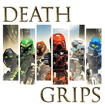 Death Grips - Bionicle Toa Mata by SadRocket