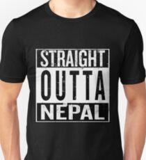 Straight Outta Nepal Unisex T-Shirt