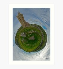 Glencolmcille Church - Sky Out Art Print