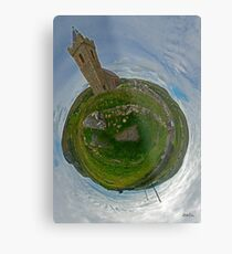 Glencolmcille Church - Sky Out Metal Print