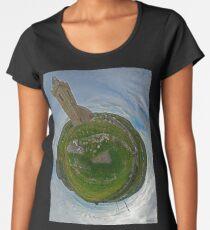 Glencolmcille Church - Sky Out Women's Premium T-Shirt