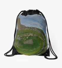 Glencolmcille Church - Sky Out Drawstring Bag