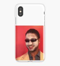 Alternate Orange Background of Thomas Cruise iPhone Case