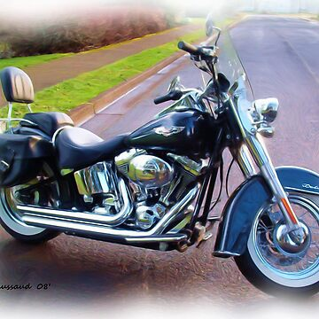 2005 Harley - Softail Deluxe by ezcat