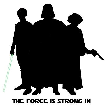 The Force is Strong In My Family by MissElphie