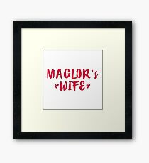 Maglor's Wife Framed Print