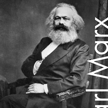 Karl Marx by LiterateGifts