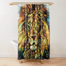 Dschungelkönig von Dream Garden Graphics Duschvorhang