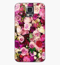 Designer mit Blumen Hülle & Skin für Samsung Galaxy