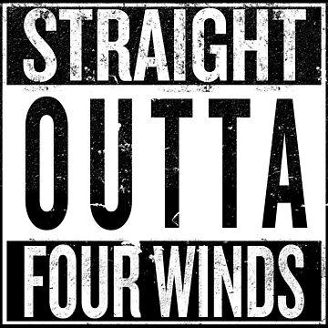 Straight outta Fourwinds by iPixelian