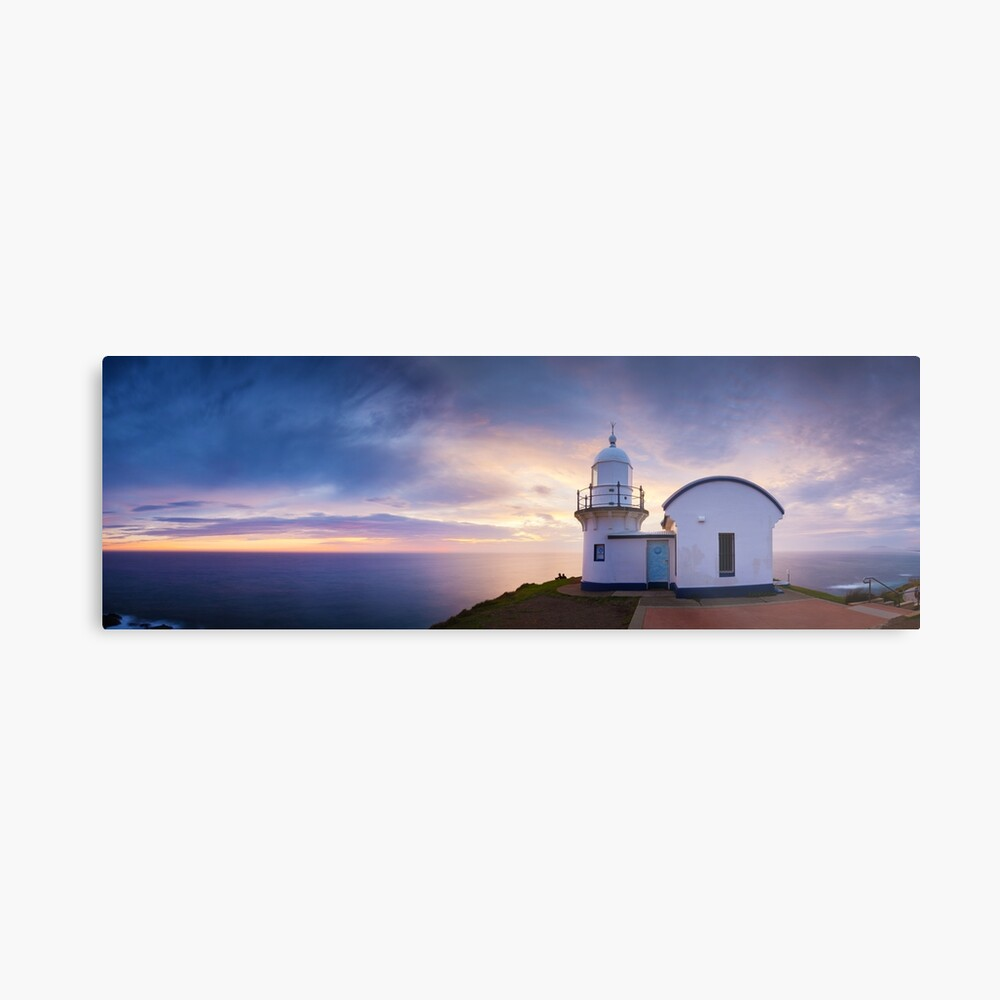 Tacking Point Lighthouse, Port Macquarie, New South Wales, Australia Metal Print