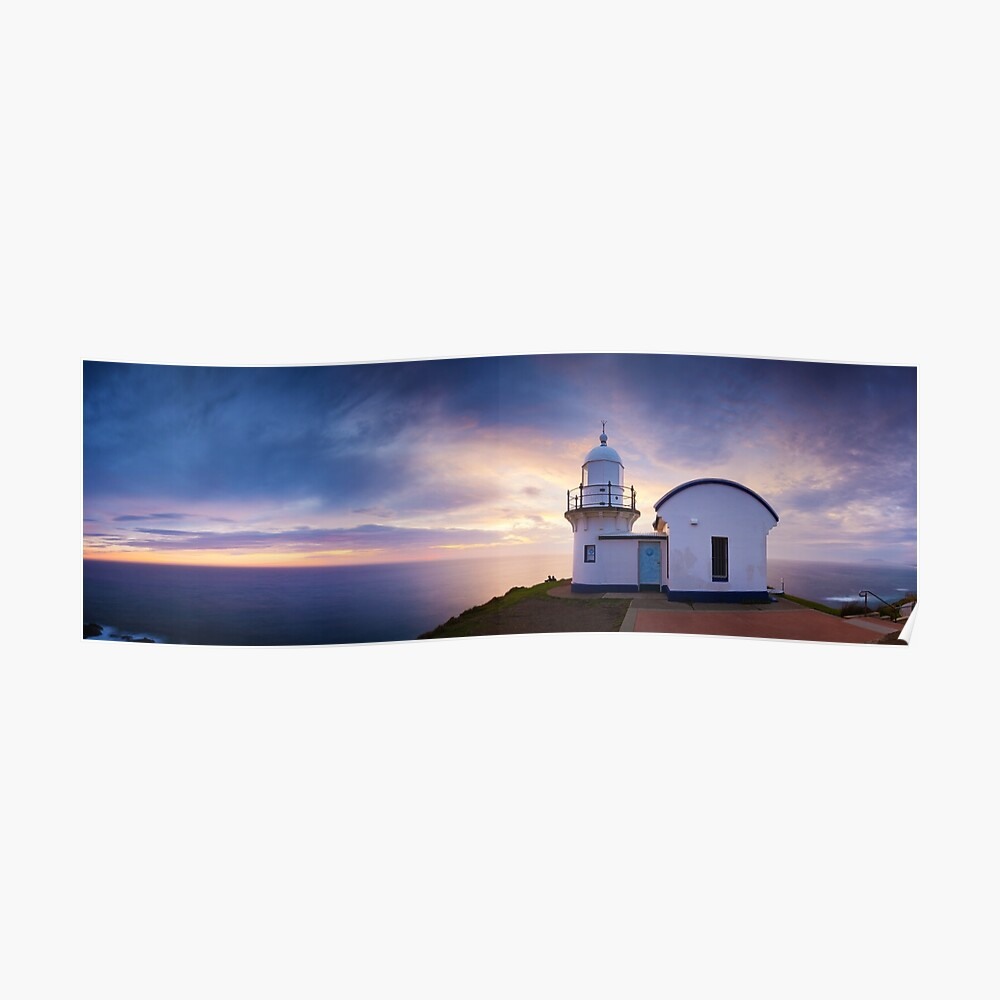 Tacking Point Lighthouse, Port Macquarie, New South Wales, Australia Poster