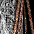 Rust Rods and Wood by Yampimon