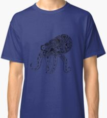 Abstract Octopus Floating in the Ether Classic T-Shirt