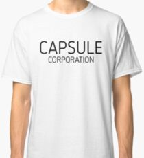 Dragon Ball Z - Capsule Corporation Classic T-Shirt