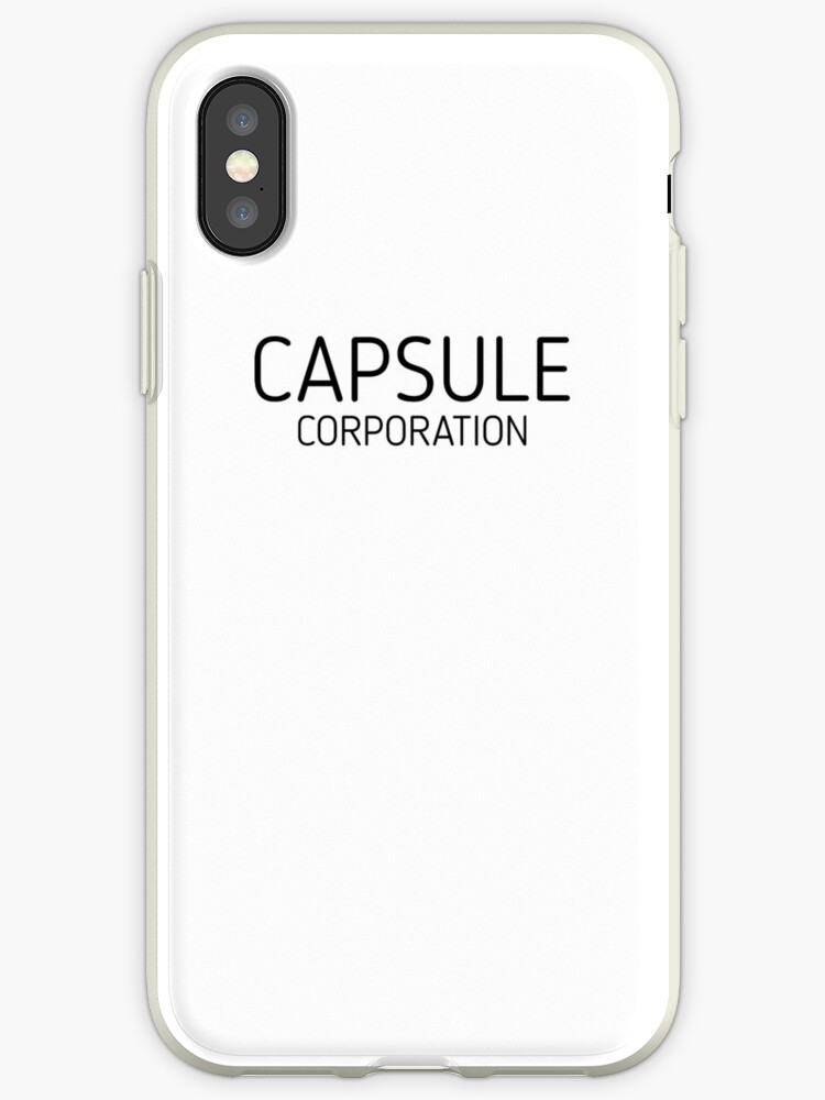 'Dragon Ball Z - Capsule Corporation' iPhone Case by AloysiusRoe