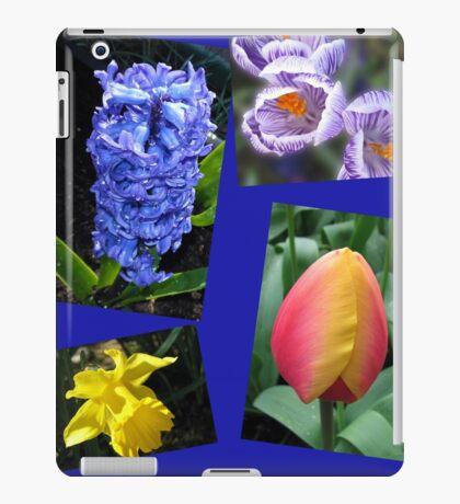 The Sweetness of Spring Floral Collage iPad-Hülle & Klebefolie
