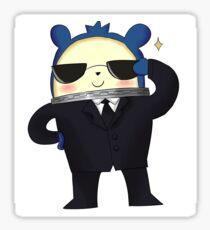 Teddie - Agent Suit Sticker