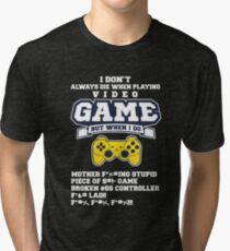 Video Game Tri-blend T-Shirt