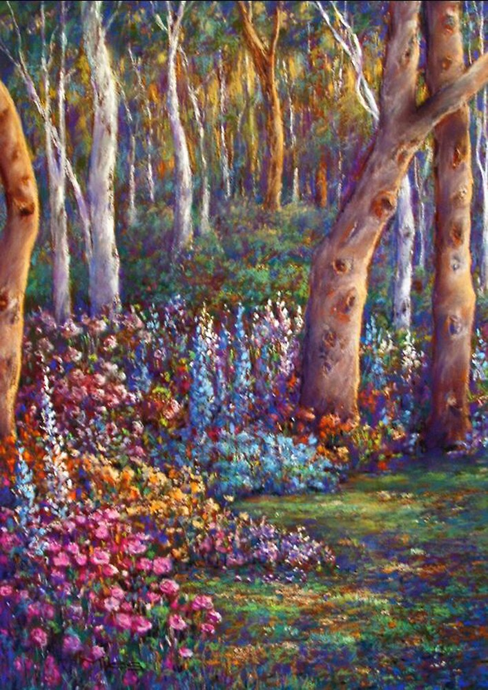 'Sunny Border' by Helen Miles