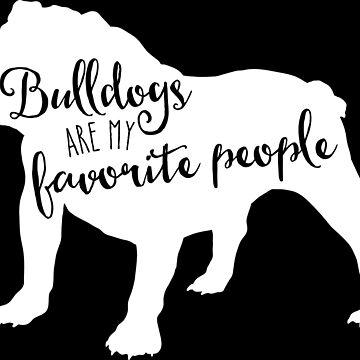 Bulldogs are my favorite people by starstreamdezin