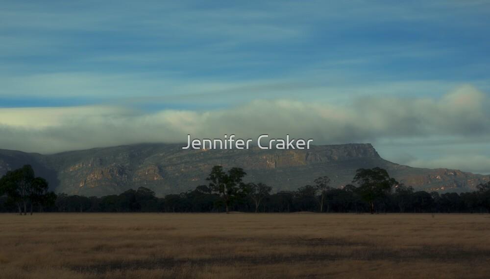 Stunning sky over the grampians V02 by Jennifer Craker