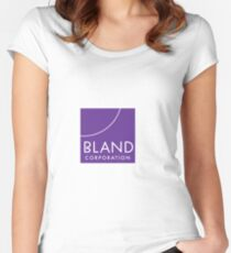 BLAND CORPORATION  Women's Fitted Scoop T-Shirt