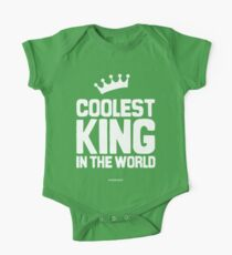The Coolest King in the world One Piece - Short Sleeve