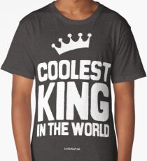 The Coolest King in the world Long T-Shirt