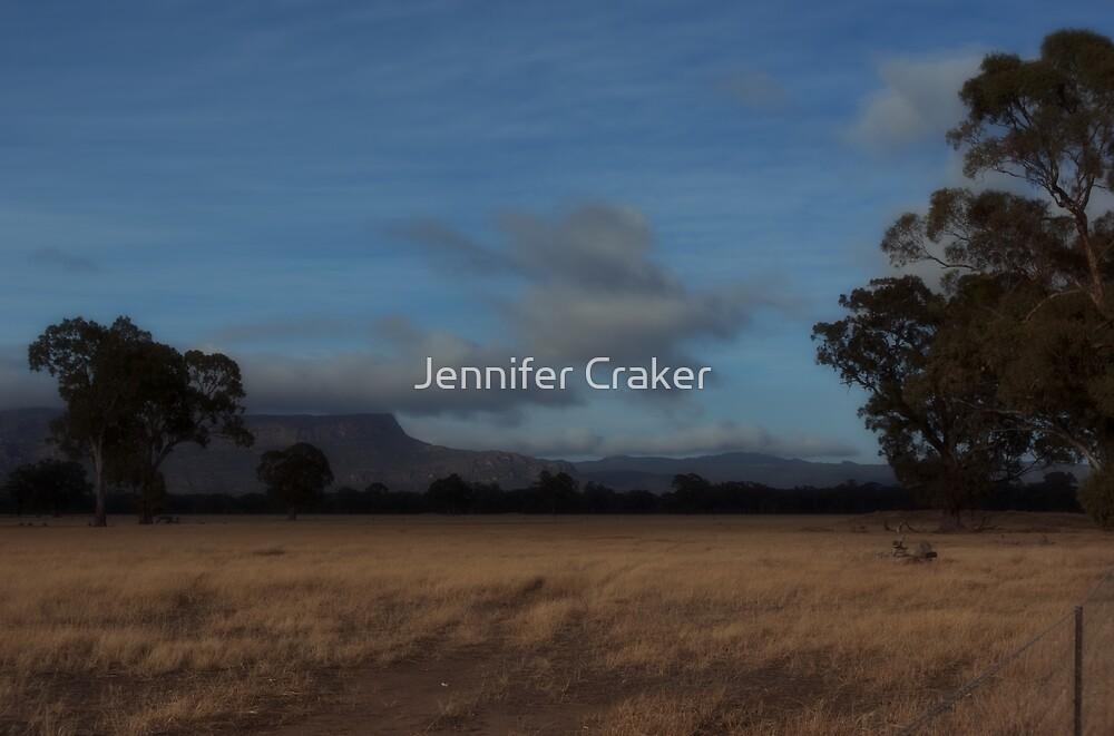 Stunning sky over the grampians V03 by Jennifer Craker