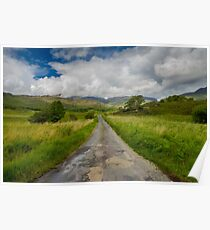 Road to the Gap of Dunloe  Poster