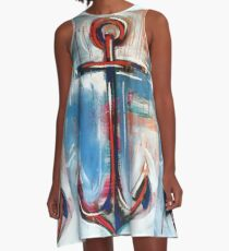 Anchors Away A-Line Dress