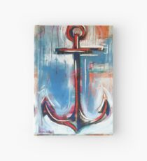 Anchors Away Hardcover Journal