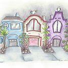 San Francisco Houses by Robin Galante